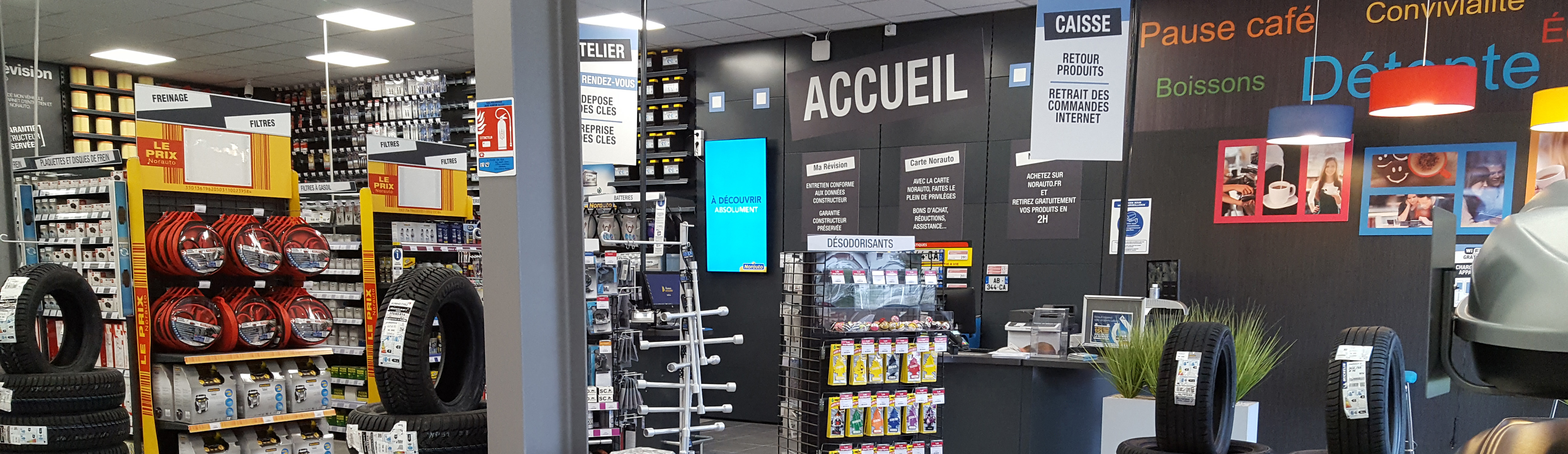 Accueil magasin Norauto