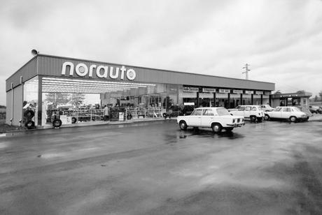 magasin norauto 1970