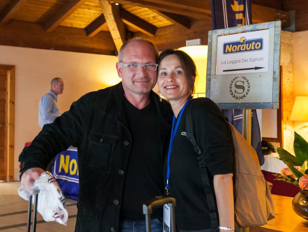 Franchisés à la convention Norauto en Italie