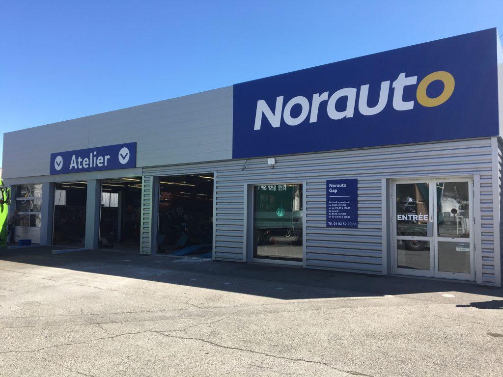 Ouverture du Norauto centre de Gap