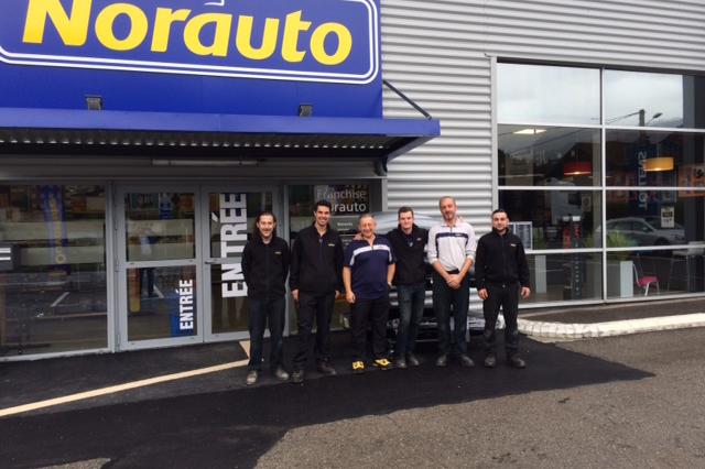 Ouverture franchise Norauto Haute-Savoie