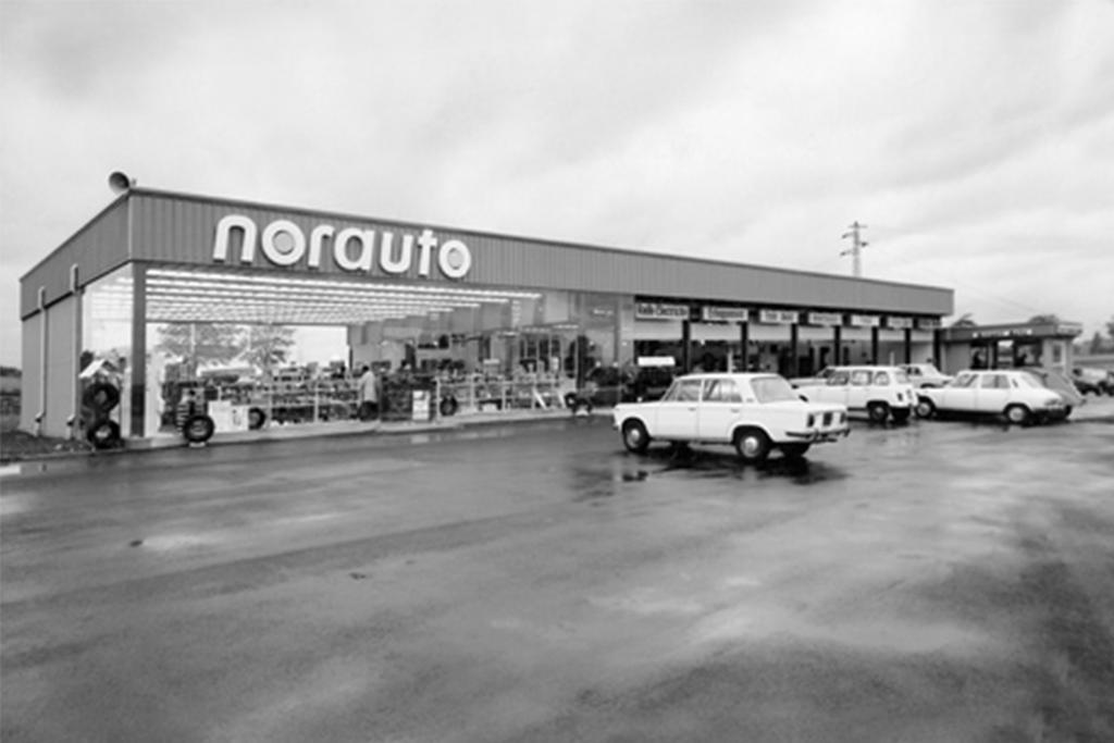 Les débuts de la franchise Norauto